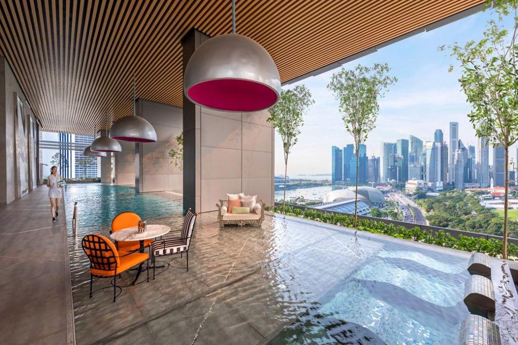 The South Beach, le nouvel hôtel design signé Philippe Starck dans le quartier de Marina Bay à Singapour © The South Beach